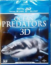 Ocean Predators Blu-Ray 3D (and 2D) blu ray  Region Free NEW SEALED