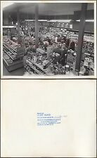Vintage Photo Men & Women Shopping in Appliance Store Interior 671912