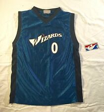 NBA Authentic Jersey, Gilbert Arenas 0 Washington Wizards Youth Large NWT #0