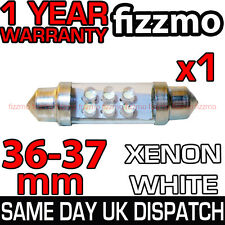 36mm 6 LED 239 272 C5W 12v XENON WHITE NUMBER PLATE INTERIOR LIGHT FESTOON BULB
