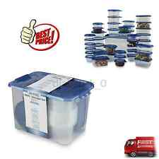 88 Piece Plastic Food Storage Container Set Microwave Safe Kitchen Meal Prep NEW
