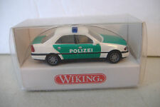 ~WIKING~POLIZEI VEHICLE~1040225~ MB C 200~1:87 SCALE~MADE IN GERMANY~