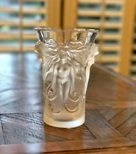 Lalique Fantasia Vase Guaranteed Authentic with Lalique Box & Mint Condition