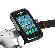 BIKE MOBILE PHONE HOLDER handlebar cycle case mount for iPhone 4 5 Galaxy S2 etc