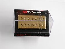 DiMarzio Ionizer 7 String Bridge Humbucker W/Gold Cover DP 711