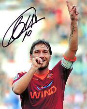 Francesco Totti - Roma Legendary Striker - Signed Autograph REPRINT