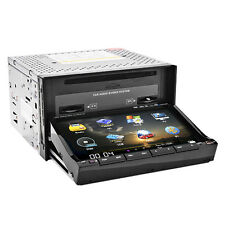 "Sony Lens+MAP GPS+Cam-Double 2Din In Dash 7"" Car Stereo DVD Player Radio BT iPod"