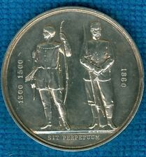 1894 British Silver Award Medal Issued by the National Rifle Association