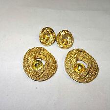Pendiente De Oro & Broche pendiente encontrar fabricación de joyería del grano hallazgos africano