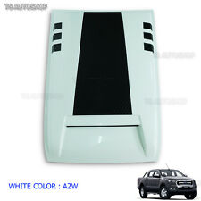 Raptor White Vent Hood Scoop Bonnet Cover Fit Ford Ranger Px2 Mk2 2015 2016 2017