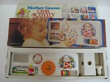 RARE VINTAGE 1983 MOTHER GOOSE CRIB ACTIVITY CENTER BABY TOY NEW ORIGINAL BOX