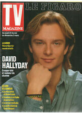 FIGARO TV 23/02/1991 david hallyday carole bouquet