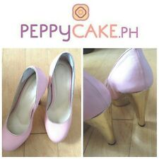 Jellybean Pink Heeled Pumps