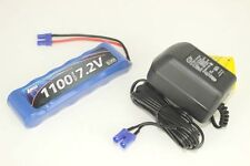 Losi 6C NiMH Battery Pack w/ EC2 Connector & NiMH A/C Charger Combo Mini 8ight
