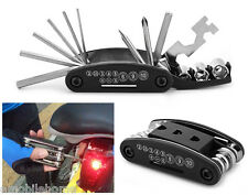 Fine 15 in 1 Multi-function Bicycle Repair Tool Set Cycling Necessary ZMM