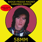 Bay City Rollers -Alan 58 mm BADGE-FRIDGE MAGNET-BAG MIRROR