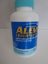 Aleve Liquid Gels Naproxen Sodium 220mg, 160 Liquid Gels Pain Reliever