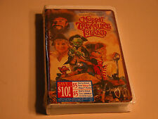 MUPPET TREASURE ISLAND FACTORY SEALED CLAMSHELL VHS 7076 WALT DISNEY PICTURES