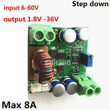 LT3800 8A DC Converter Volt Regulator 12V 24V 48V to 1.8V-36V Step Down Reducer