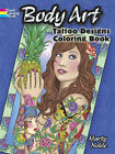 Tattoo Designs Adult Colouring Book Creative Body Art Therapy Relaxing Gift Fun