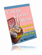 Vintage Crochet Patterns - PDF eBook With Resell Rights