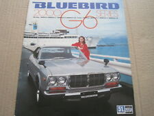 NISSAN BLUEBIRD 810 2000 G6 SEDAN-COUPE BROCHURE (JAPANESE)