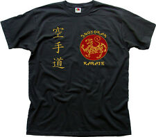 SHOTOKAN KARATE Martial Arts MMA UFC black t-shirt TC01460