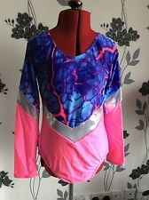 DANCE COSTUME ROCK N ROLL FREESTYLE SHOW FESTIVAL GYMNASTICS STUNNING ADULT B1