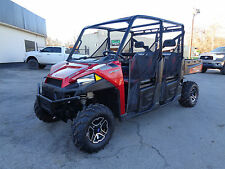 2015 Polaris Ranger Crew 900 EPS 4x4 EFI Power Steering & seating for 6 adults
