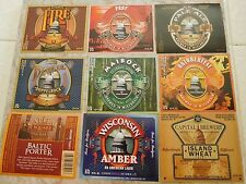 14 Different Capitol Brewing Beer Labels Middleton, Wisconsin