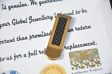 24K Gold Plated Money Clip Cash Note Thin Holder Clip Gift Wallet Metal Men Gift
