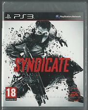 Playstation 3 Syndicate  BRAND NEW ps3 (GERMAN VERSION) plays English