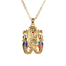 Egyptian Cartouche Hieroglyph Necklace Pendant. Ancient Egypt Fashion Jewelry