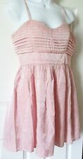 SEXY SHIMMERY PINK COCKTAIL DRESS BY CANDIES SZ 7 NWOT NEW SPEGHETTI STRAP DRESS