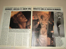 BRIGITTE NIELSEN GIOVANNI LUCIANO FUNARI clipping fotografi photo 1988 AS61