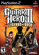 Guitar Hero III Legends Of Rock PS2 Playstation 2 Game