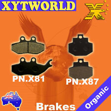 Front Rear Brake Pads PIAGGIO Super Hexagon GTX 125/180