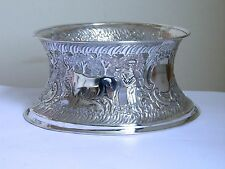 Antique Silver Plated Potato Ring or Dish Ring