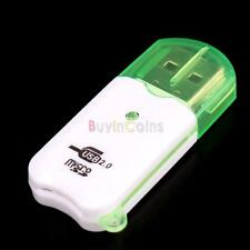 Portable USB 2.0 Adapter Micro SD SDHC Memory Card Reader/Writer Flash Drive US