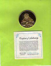 Medaille Papst  Johannes Paul II - Sterlingsilber verg. ( 18 g ) ( 23674-o1 )