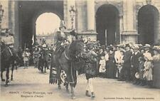 CPA 54 NANCY CORTEGE HISTORIQUE 1909 MARGUERITE D'ANJOU
