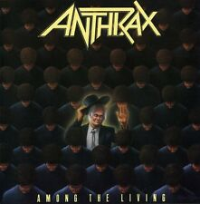 Among The Living - Anthrax (1990, CD NEUF)