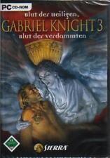 Sierra Gabriel Knight 3 * completamente alemán *** como nuevo