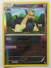 Stoutland REV HOLO - 83/114 Black and White Base Set - Rare Pokemon Card