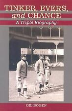 Tinker, Evers, and Chance: A Triple Biography-ExLibrary