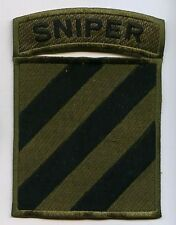 OEF II US ARMY OD PATCH: SNIPER