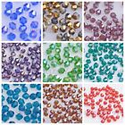 200pc 4mm Faceted Crystal Glass 5301 Bicone Loose Spacer Beads Wholesale 76Color