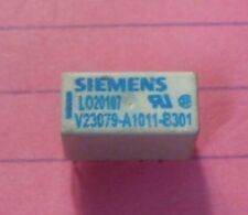 Siemens V23079 DPDT 2 Amp 4.5v coil Relay (gold plated silver nickel contacts)
