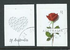 AUSTRALIA 2017 SPECIAL OCCASION LOVE STAMPS SELF ADHESIVE FINE USED