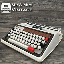 Excellent Brother deluxe 1350 Typewriter Working red black ribbon PICA  Serviced